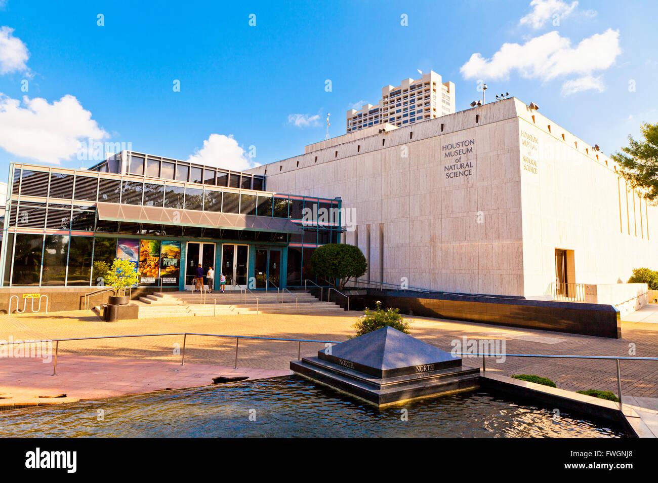Il Museo di Scienze Naturali di Houston e Hermann Park, Houston, Texas, Stati Uniti d'America, America del Nord Immagini Stock
