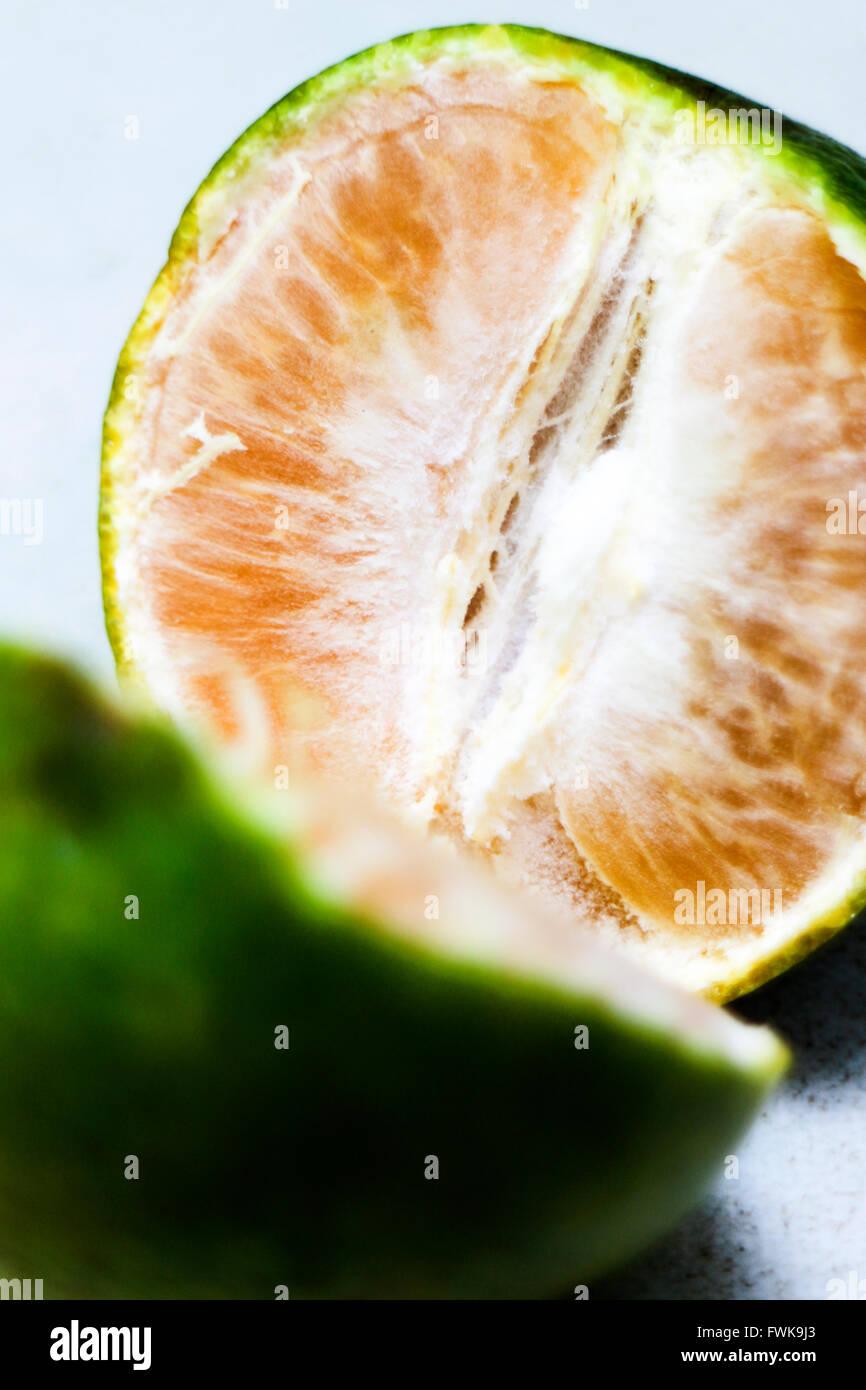 Close-Up di frutti di colore arancione Immagini Stock