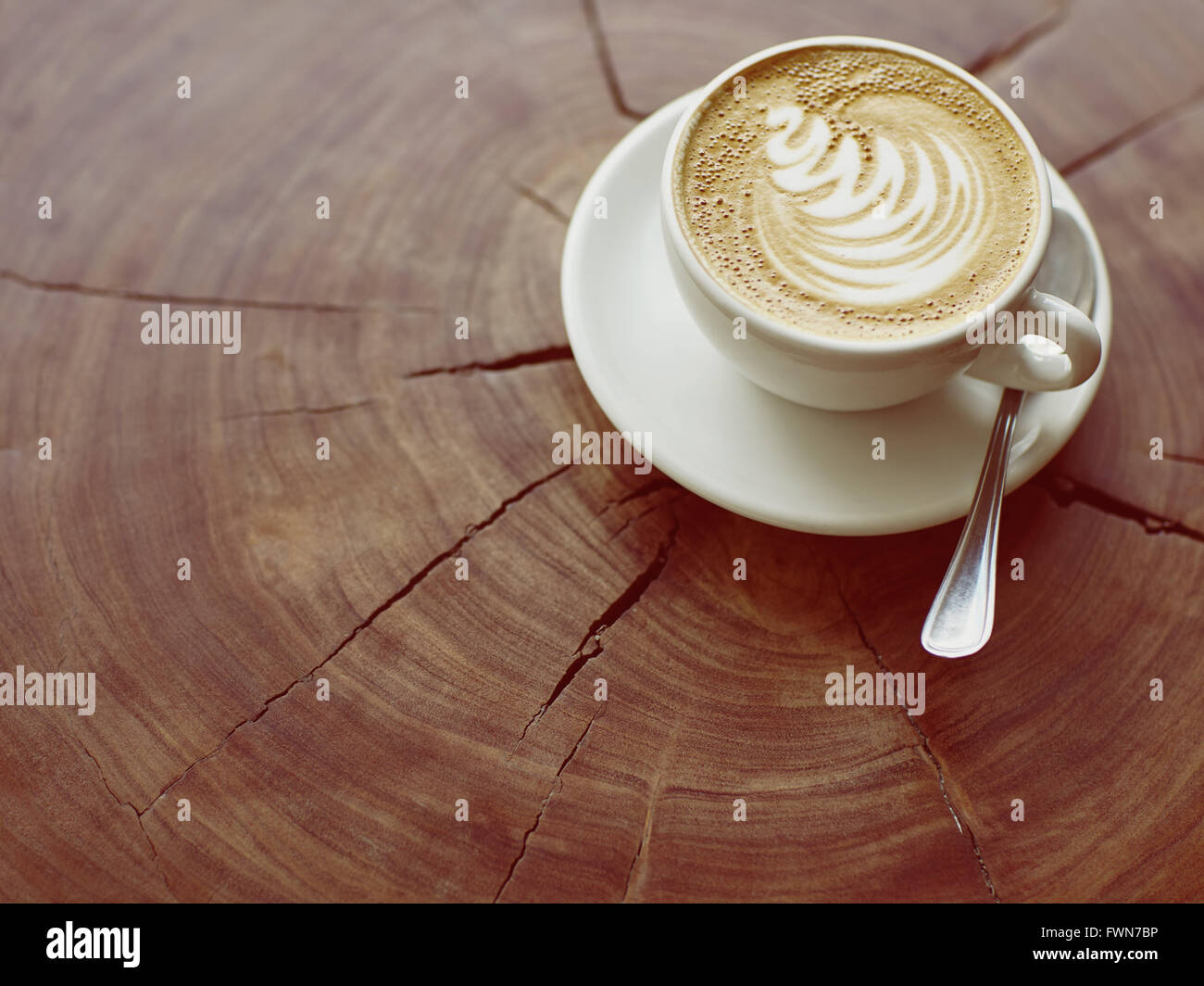 La quintessenza della cultura del caffè Immagini Stock