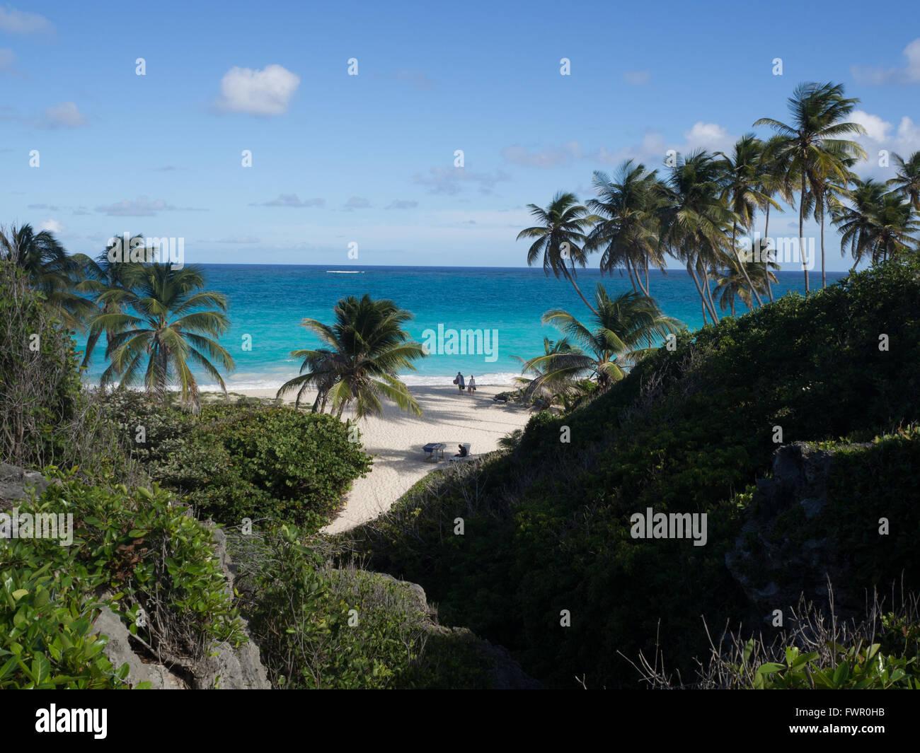 Spiaggia di Tuquise Immagini Stock