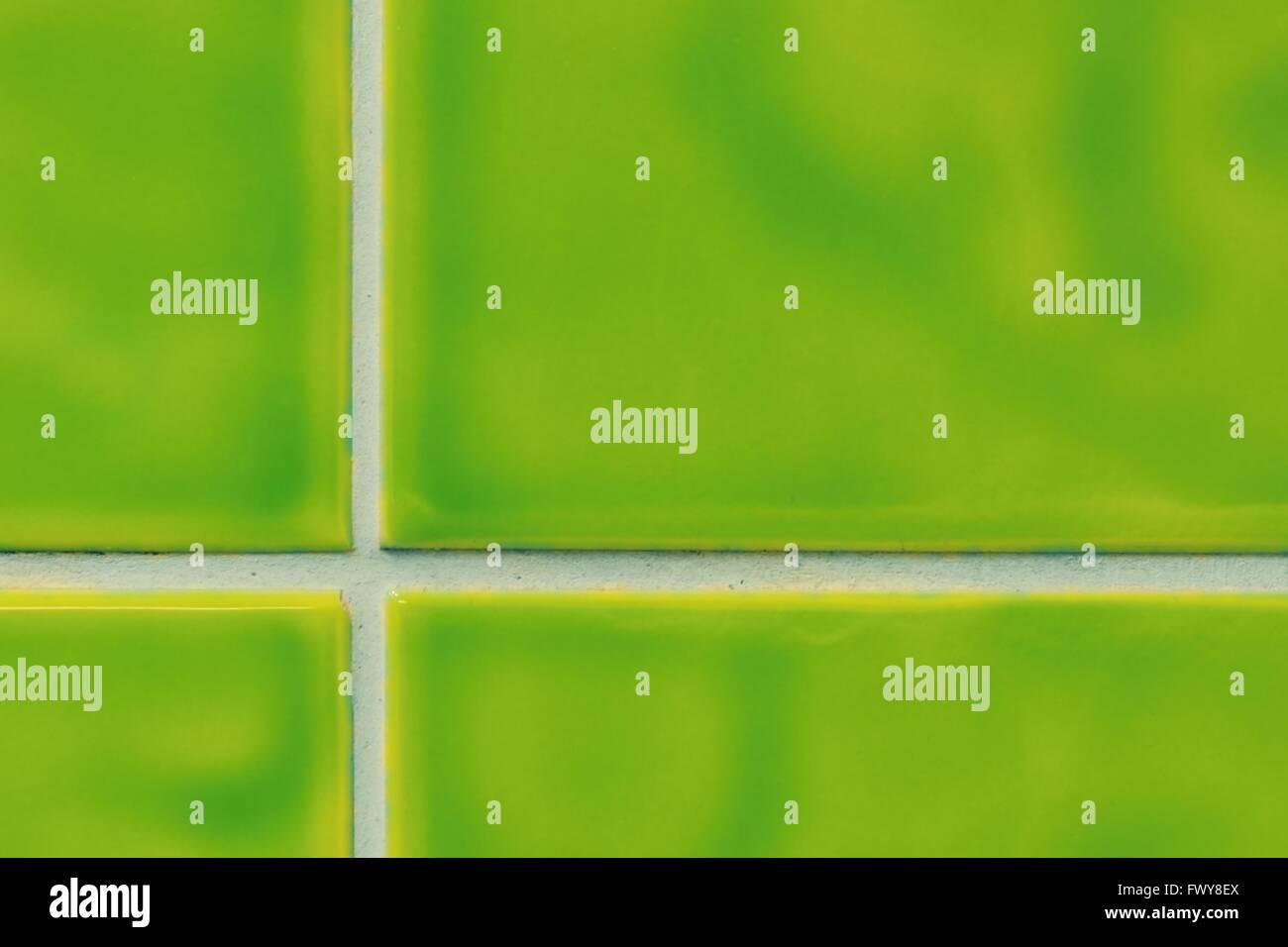 Quattro piastrelle verdi nice texture di sfondo e modello foto