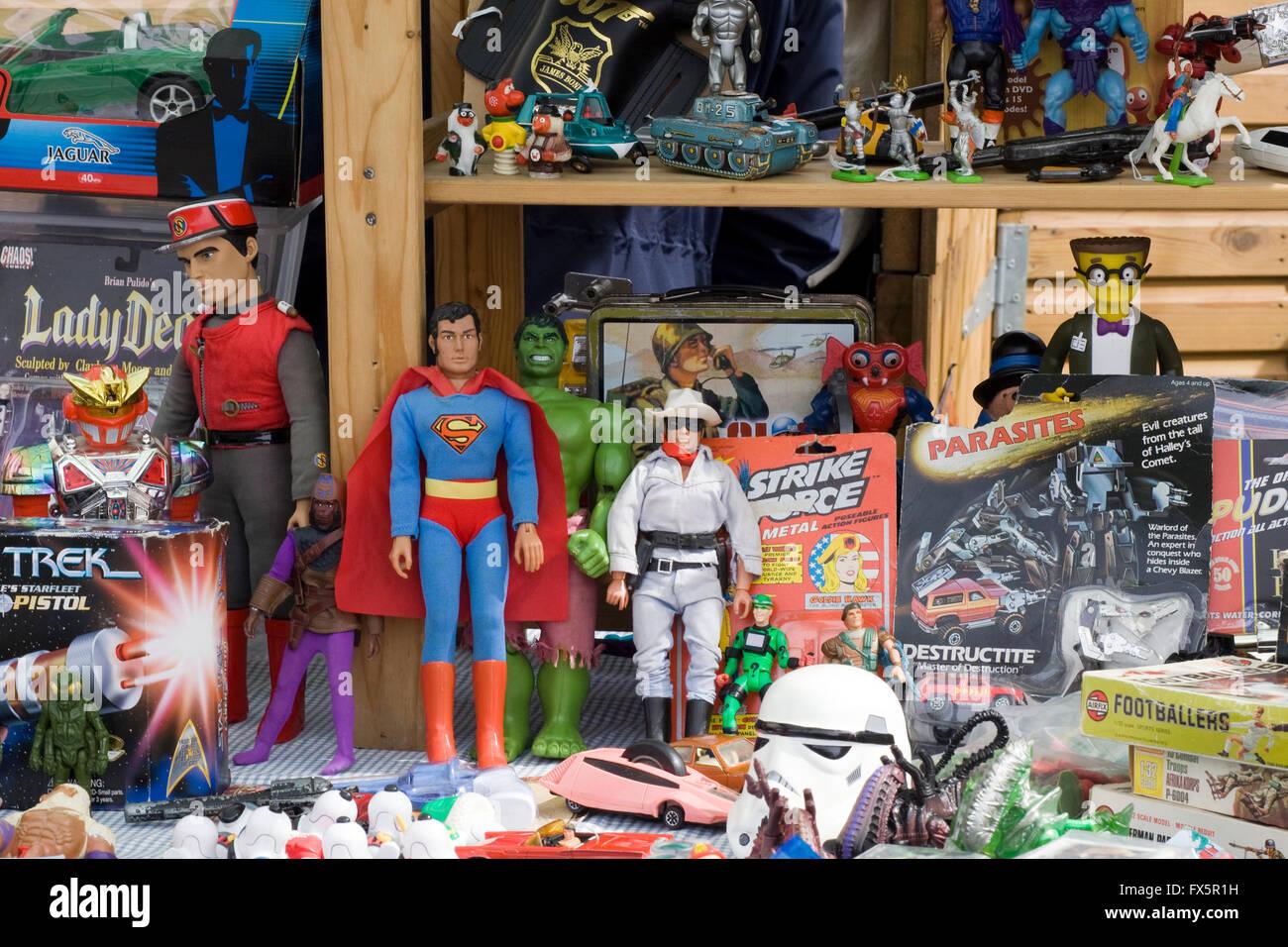 Bric e brac e negozio di souvenir Foto Stock
