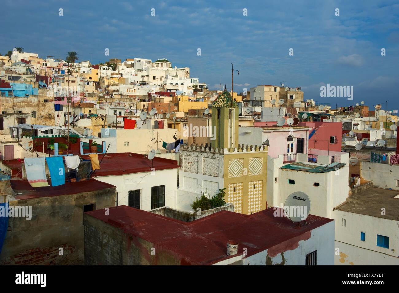 Il Marocco, Tangeri, Medina, la città vecchia Immagini Stock
