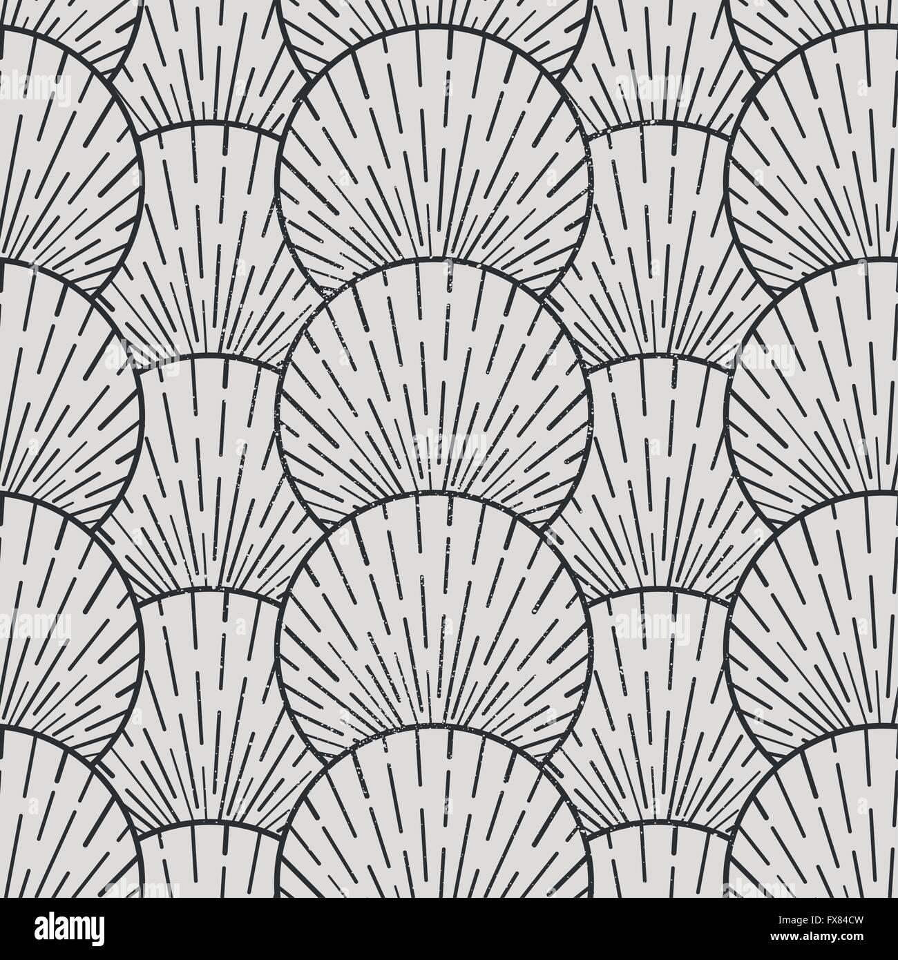 Vettore di Seamless Pattern. Seamless disegno geometrico, illustrazione vettoriale Immagini Stock