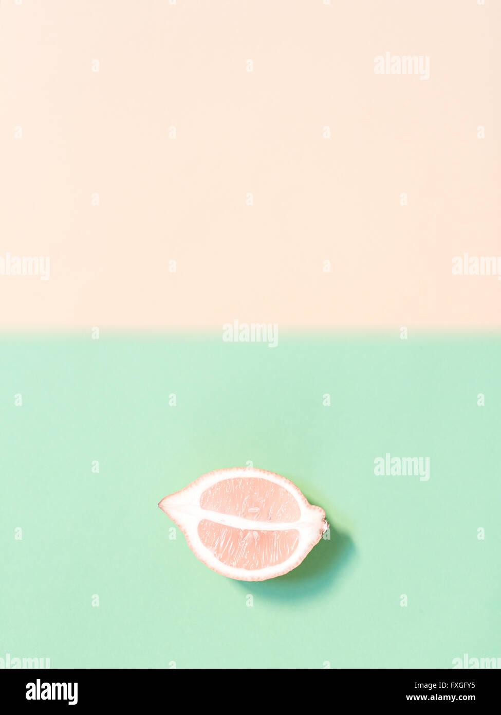 Limone tritata Immagini Stock