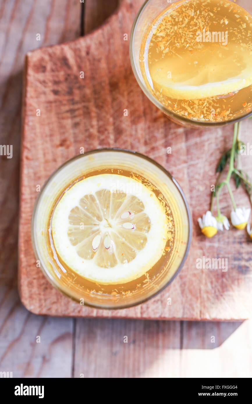Limonata fatta in casa Immagini Stock