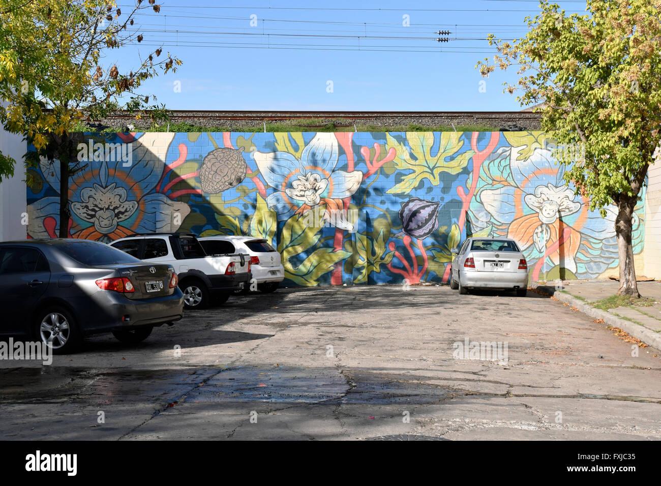 Arte dei graffiti Immagini Stock