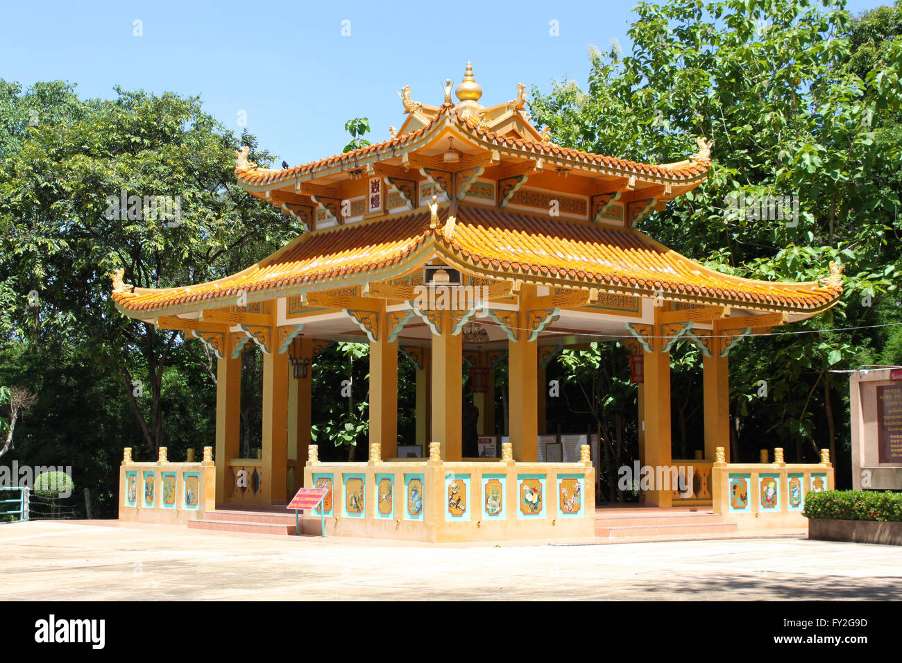 Temple Mount Pratamnak, Pattaya, Thailandia Foto Stock