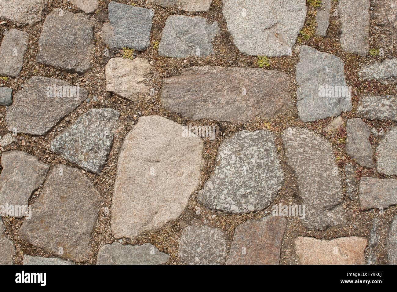 Vecchia pavimentazione di pietra sulla strada dettaglio del centro storico di piastrelle in - Centro lodigiano piastrelle ...