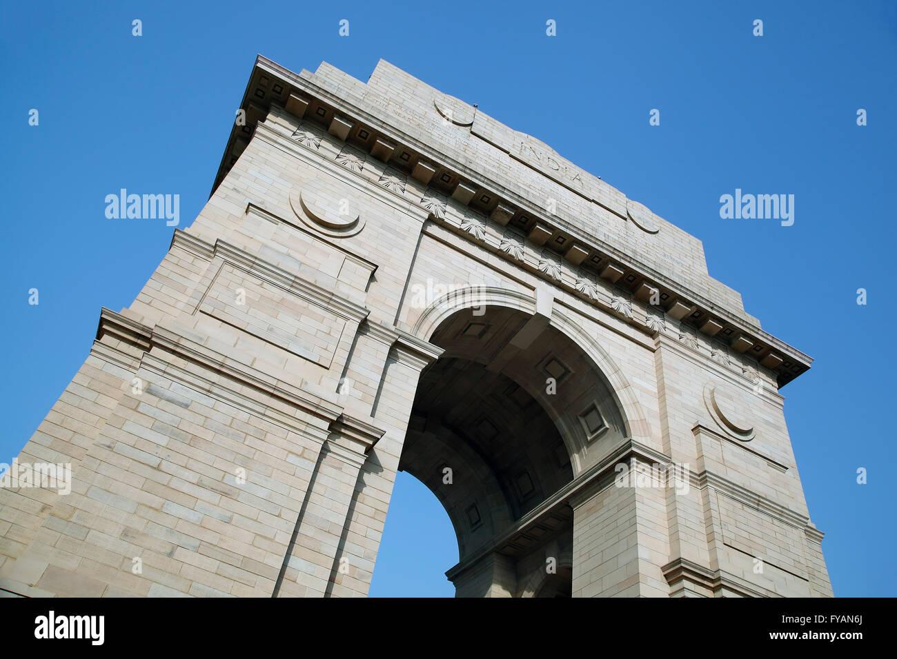 India Gate New Delhi, India Immagini Stock