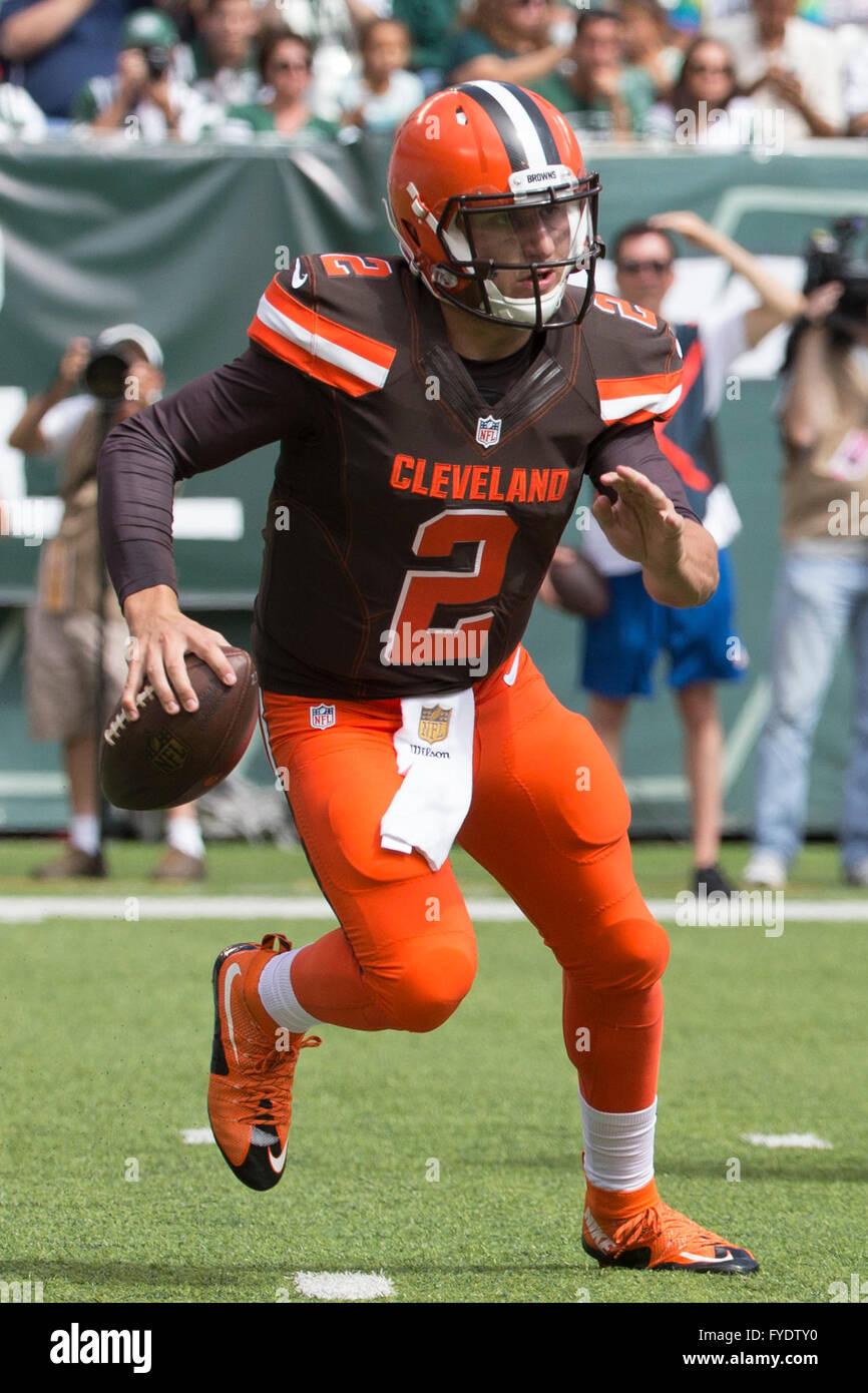 Aprile 26, 2016 - ex Cleveland Browns quarterback Johnny Manziel accusato di violenza domestica da un Dallas grand Immagini Stock