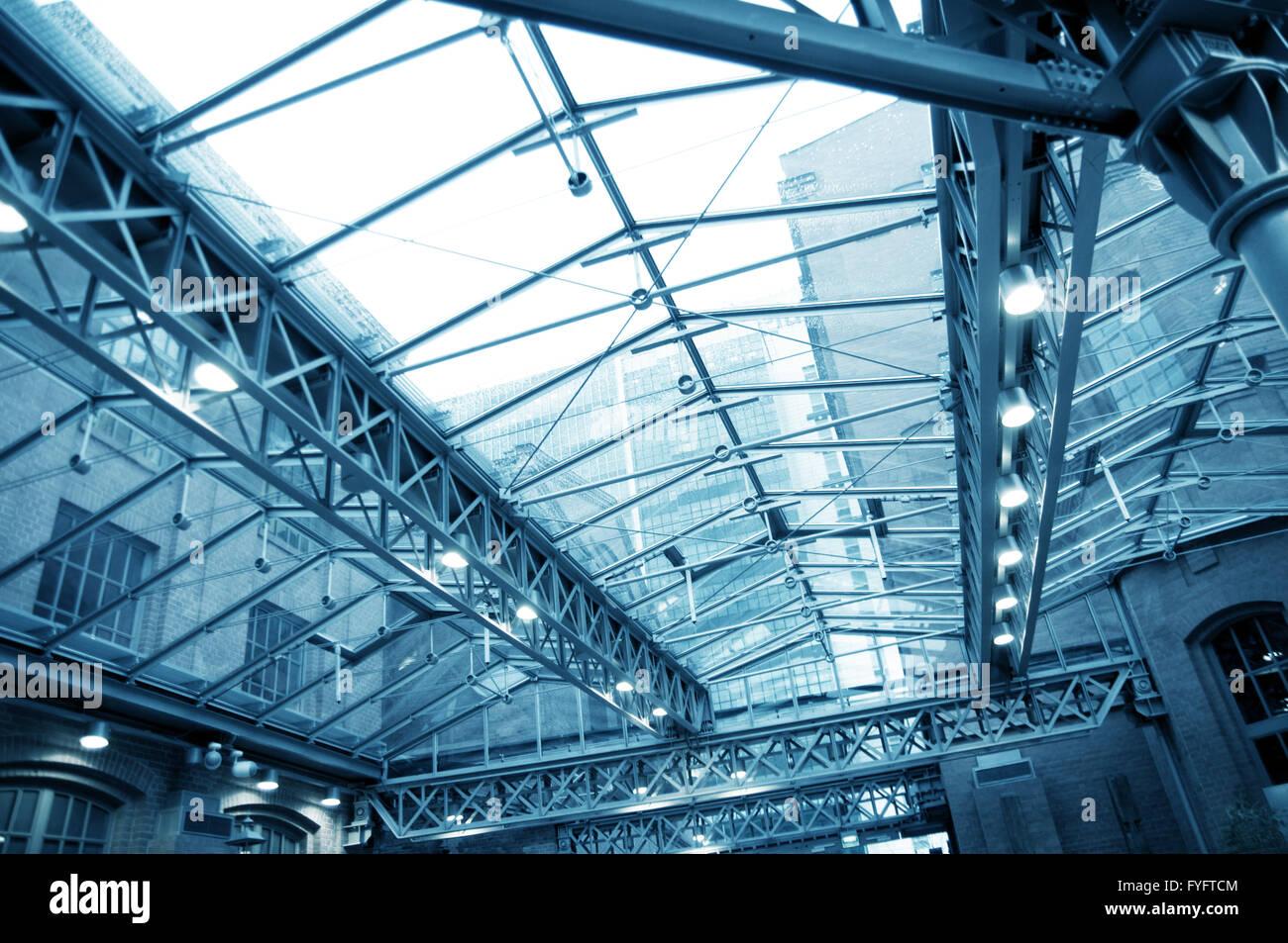 Moderna costruzione sfondo abstact Foto Stock