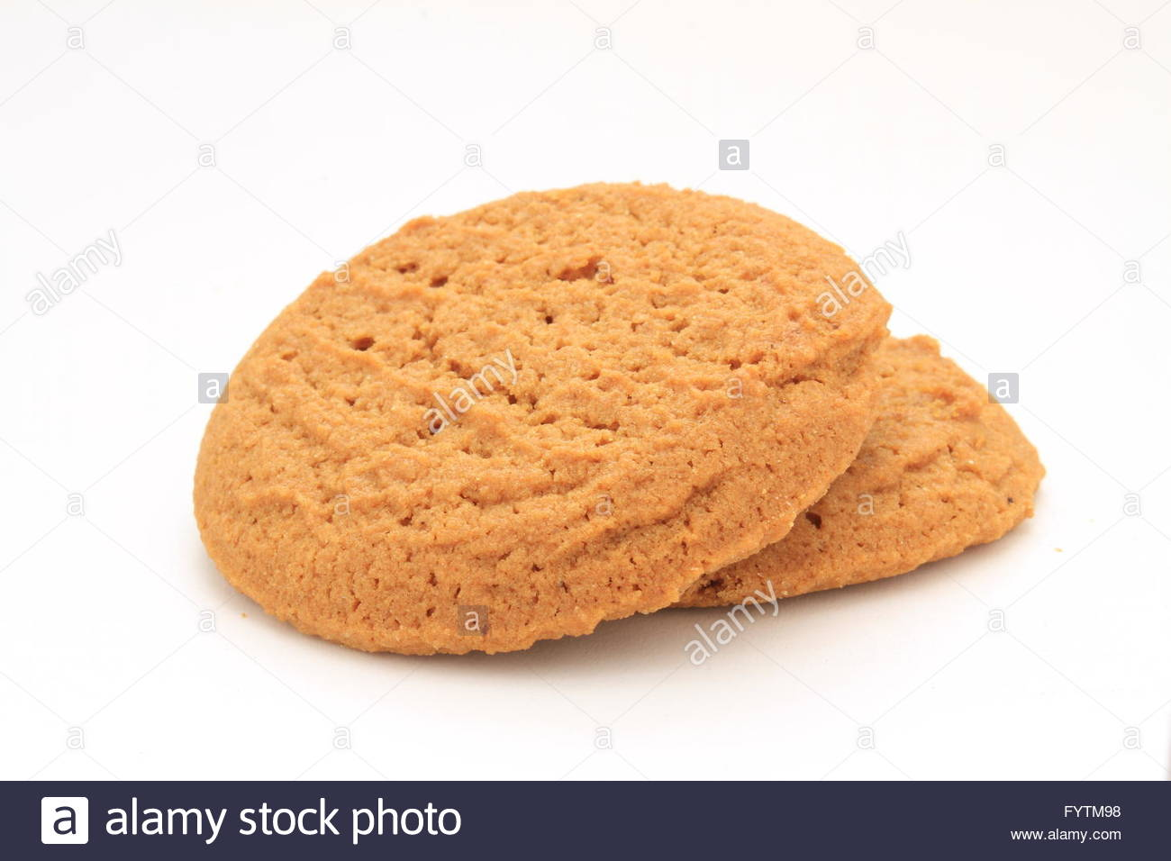 Lo zenzero biscotti a scatto Immagini Stock