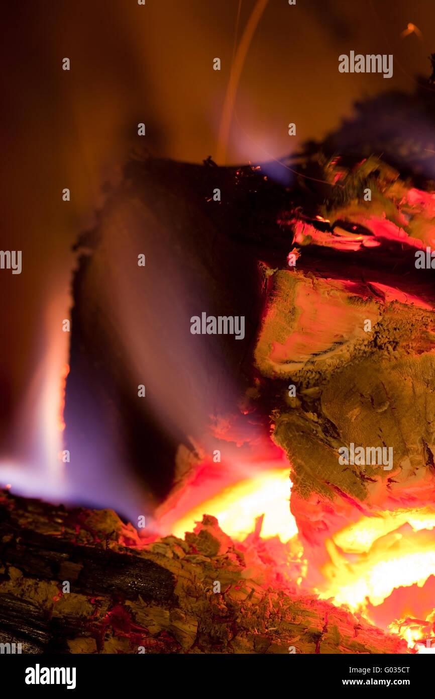 fuoco Foto Stock