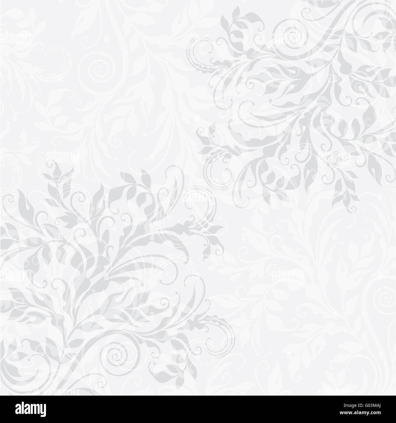 EPS10 decorativo sullo sfondo floreale Immagini Stock