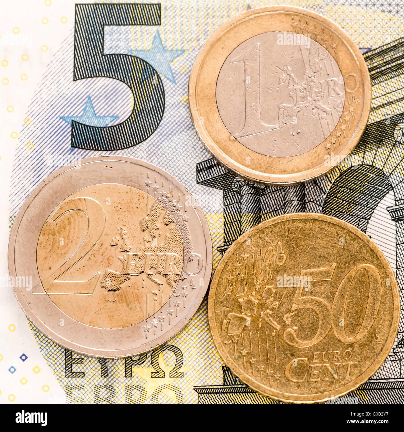 Il tedesco salario minimo Immagini Stock