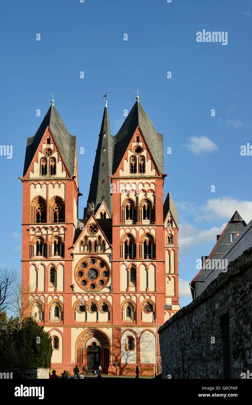 Cattedrale di Limburgo Immagini Stock