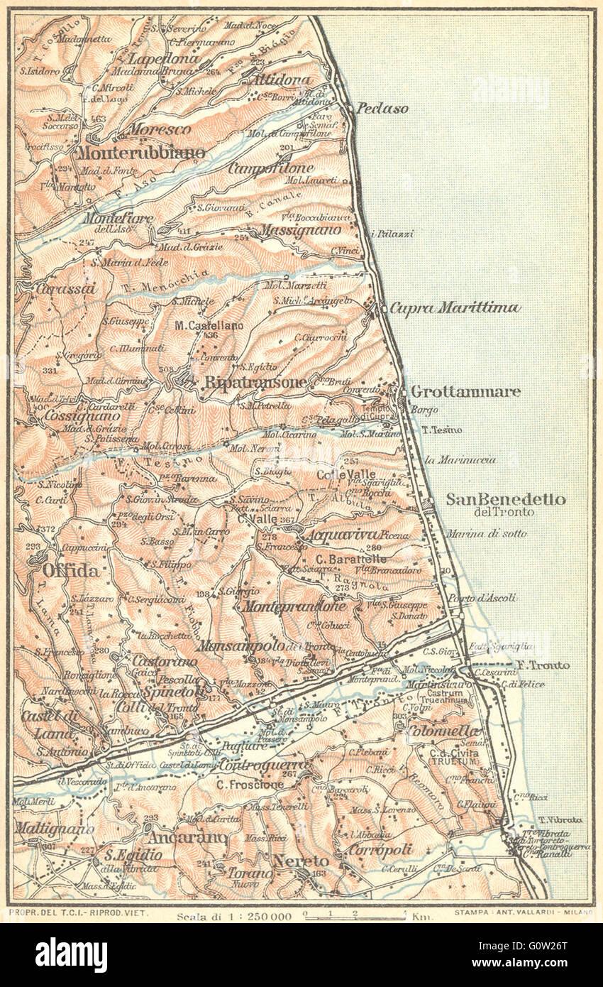 Cartina Costa Adriatica Italia.Mappa Dell Adriatico Immagini E Fotos Stock Alamy