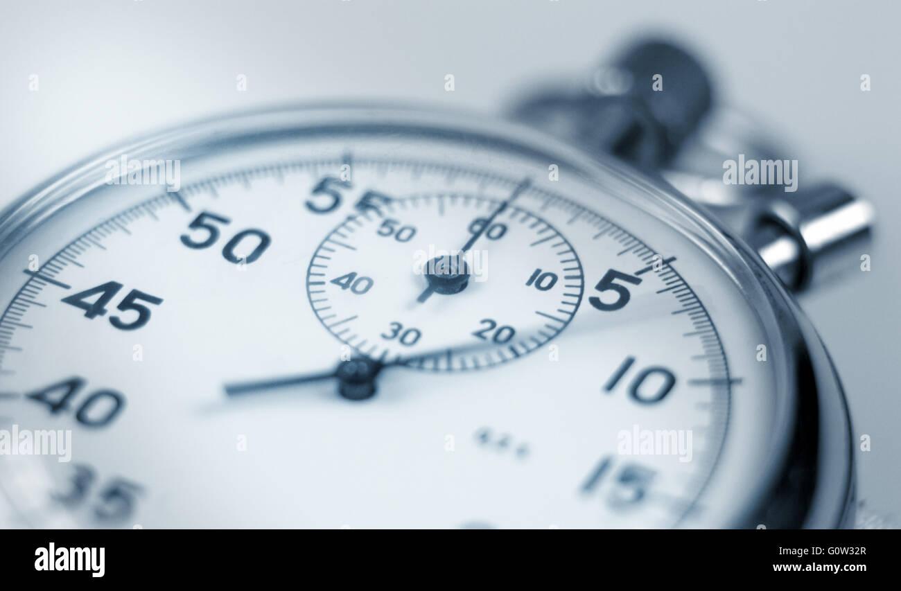 Cronometro. Immagini Stock