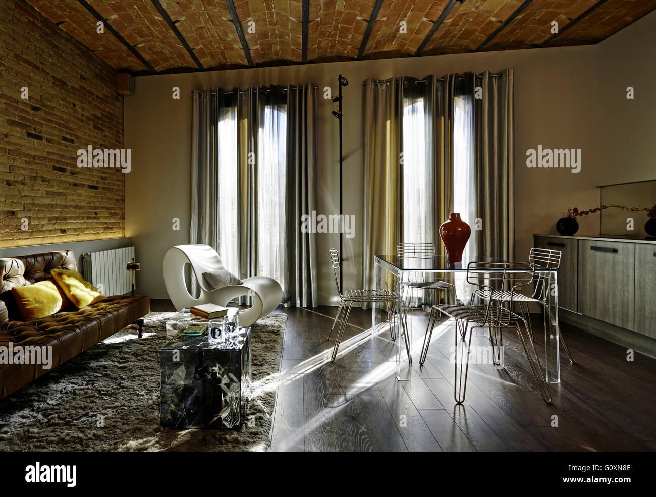 Nou de la Rambla Appartamento, Barcelona, Spagna. Aprire il piano ...