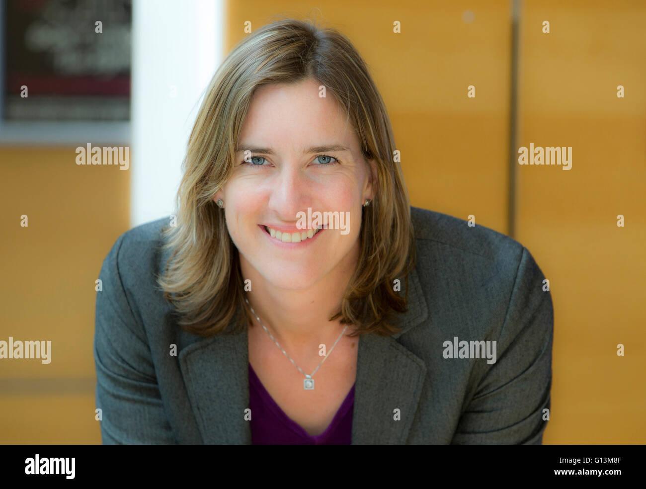 Katherine Grainger Olympic Rower Immagini Stock