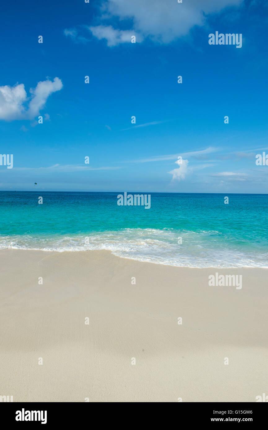 Spiaggia di Cavoli, Paradise Island, a Nassau, New Providence, Bahamas, dei Caraibi Immagini Stock