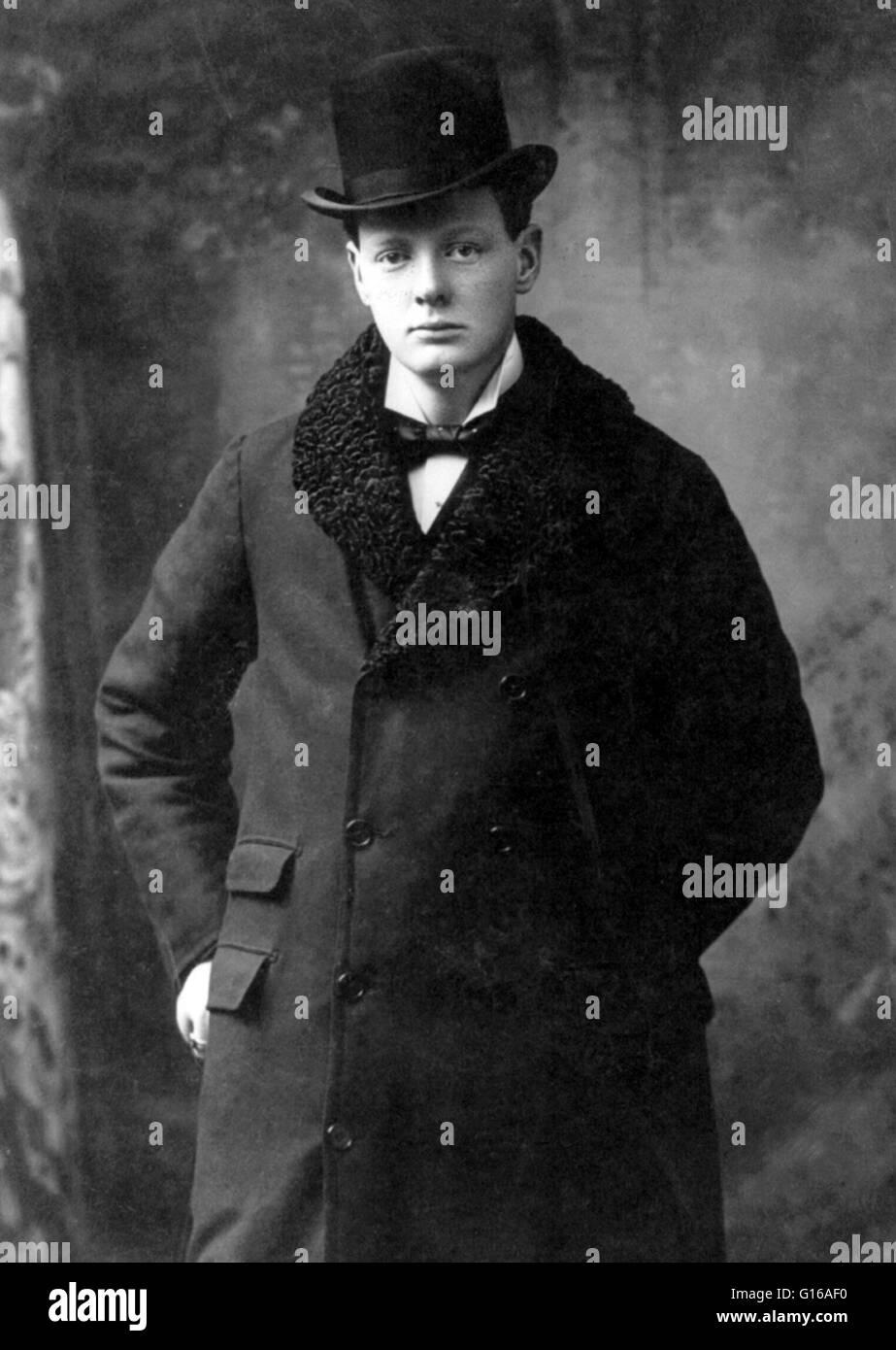 Churchill indossando un cappello e soprabito 108d46d65a42