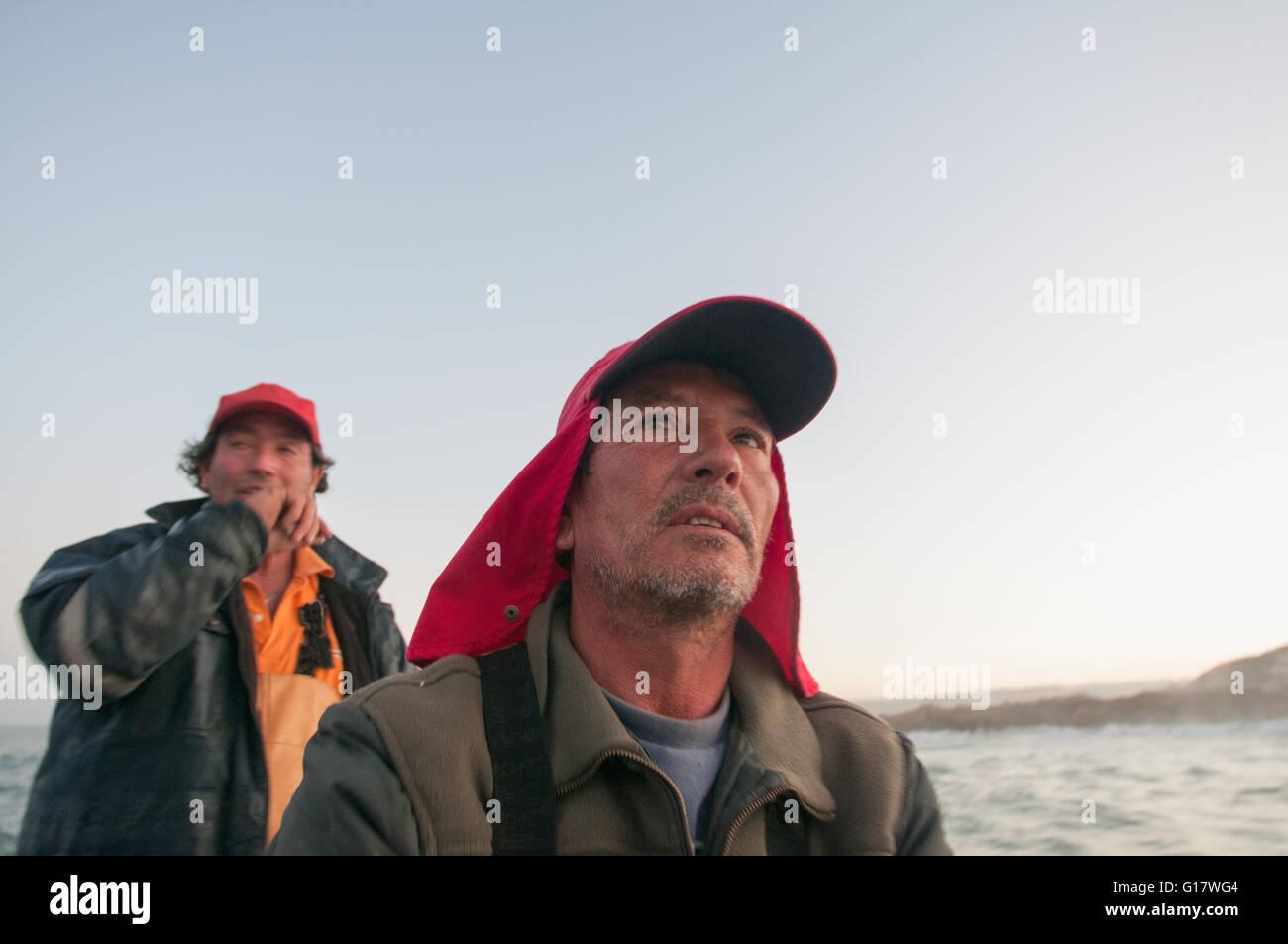 Gill net la pesca Foto Stock