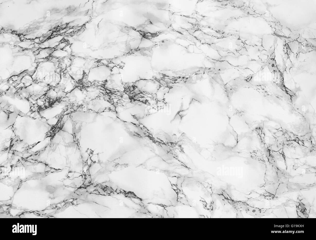 Marmo bianco sullo sfondo di texture Foto Stock