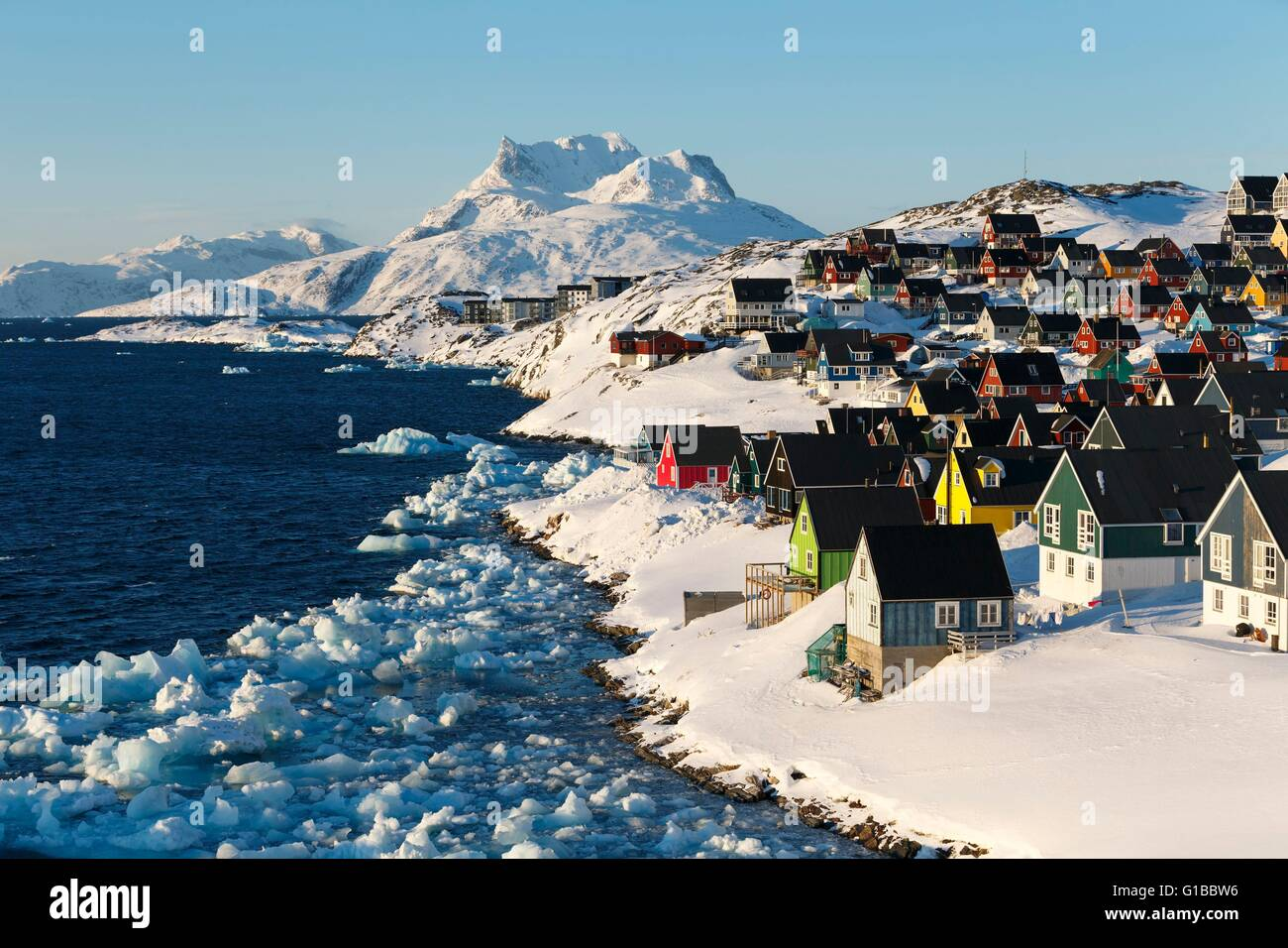 Groenlandia, Nuuk Foto stock - Alamy