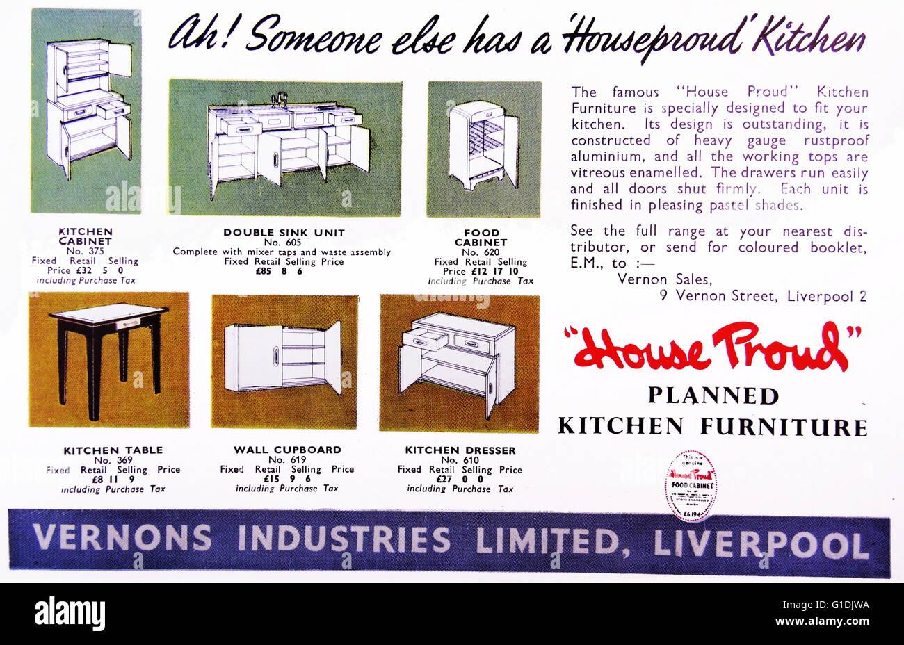 Annuncio per \'casa orgoglioso\' built-in Freestanding mobili da ...