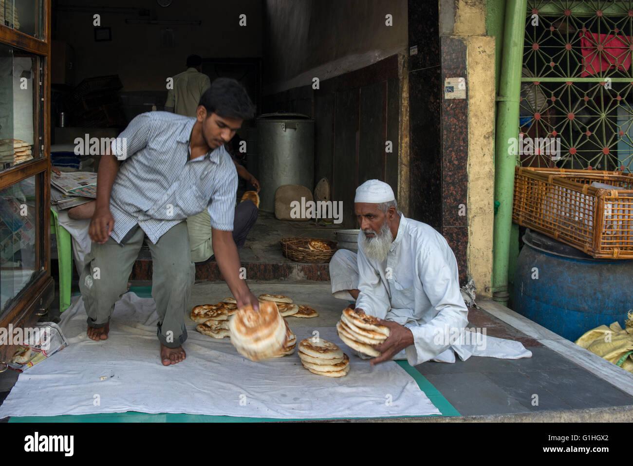 Fornai, Hyderabad Immagini Stock