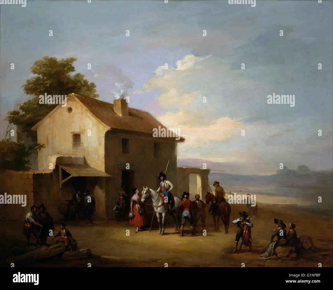 José Elbo - un Country Inn - Museo del Romanticismo, Madrid Immagini Stock