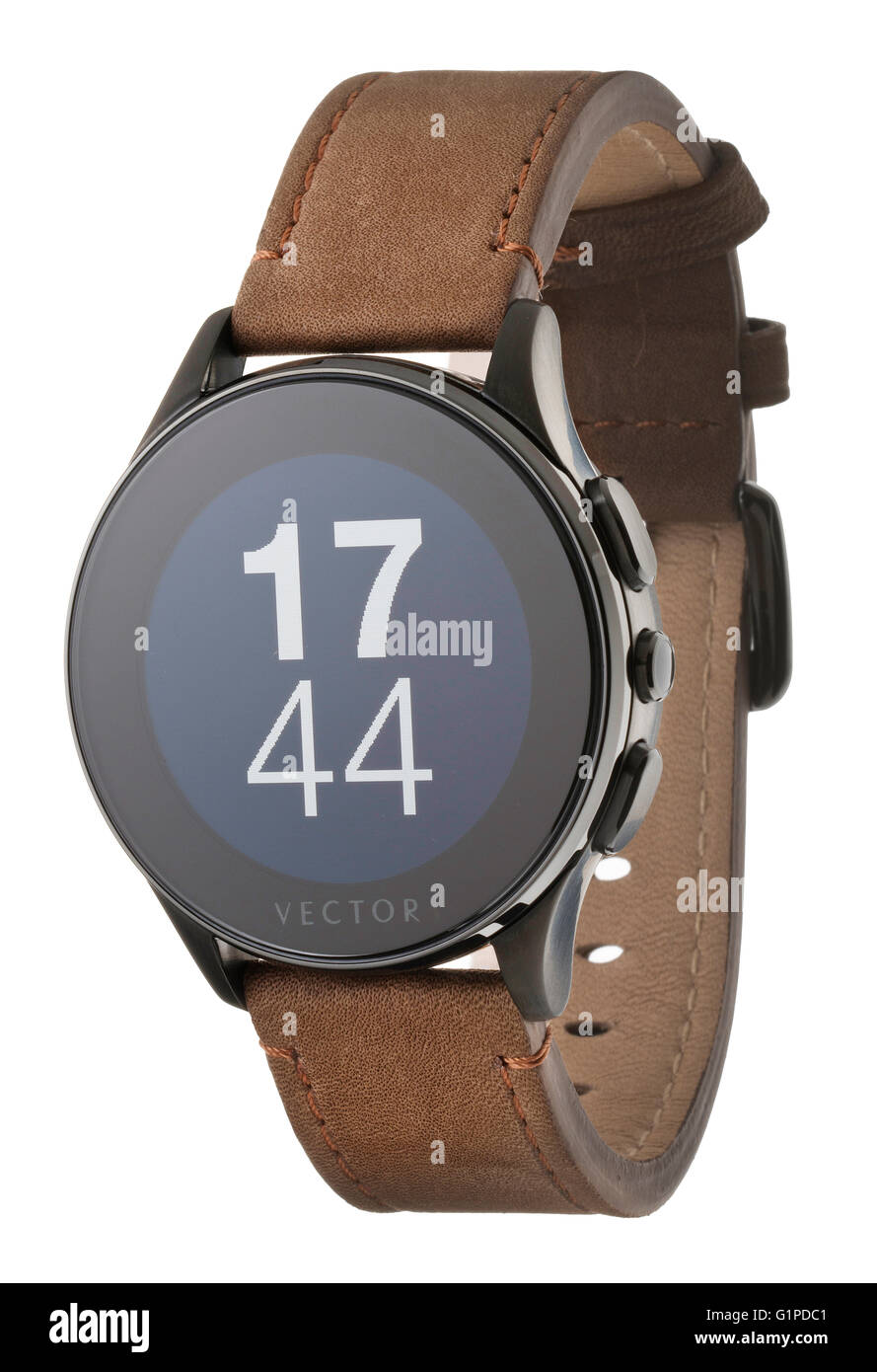Vector Luna Smart Watch Immagini Stock