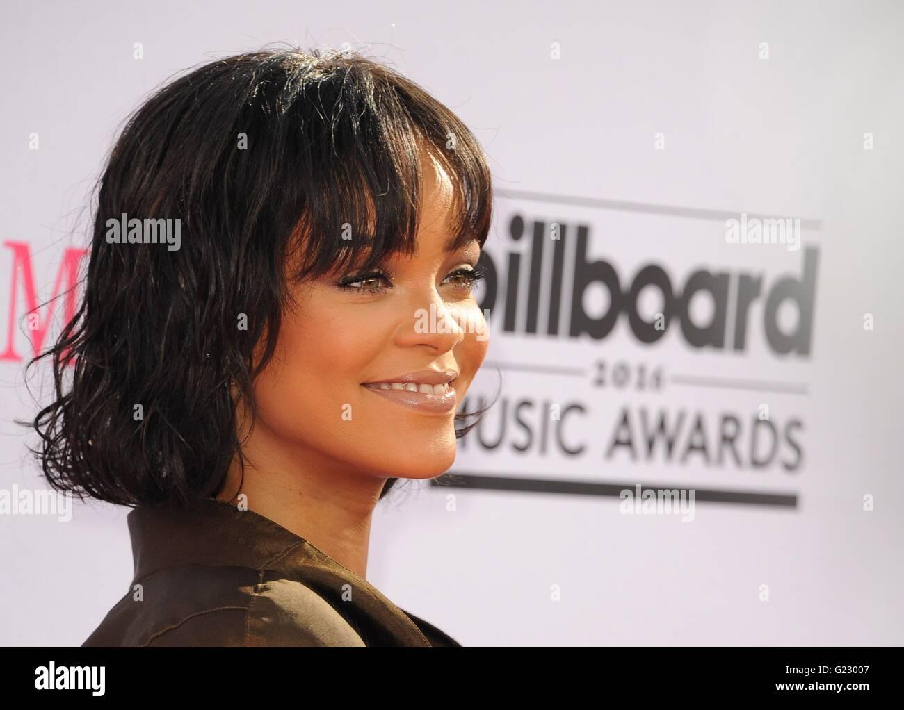 Las Vegas, NV, Stati Uniti d'America. 22 Maggio, 2016. Rihanna presso gli arrivi per 2016 Billboard Music Awards Immagini Stock
