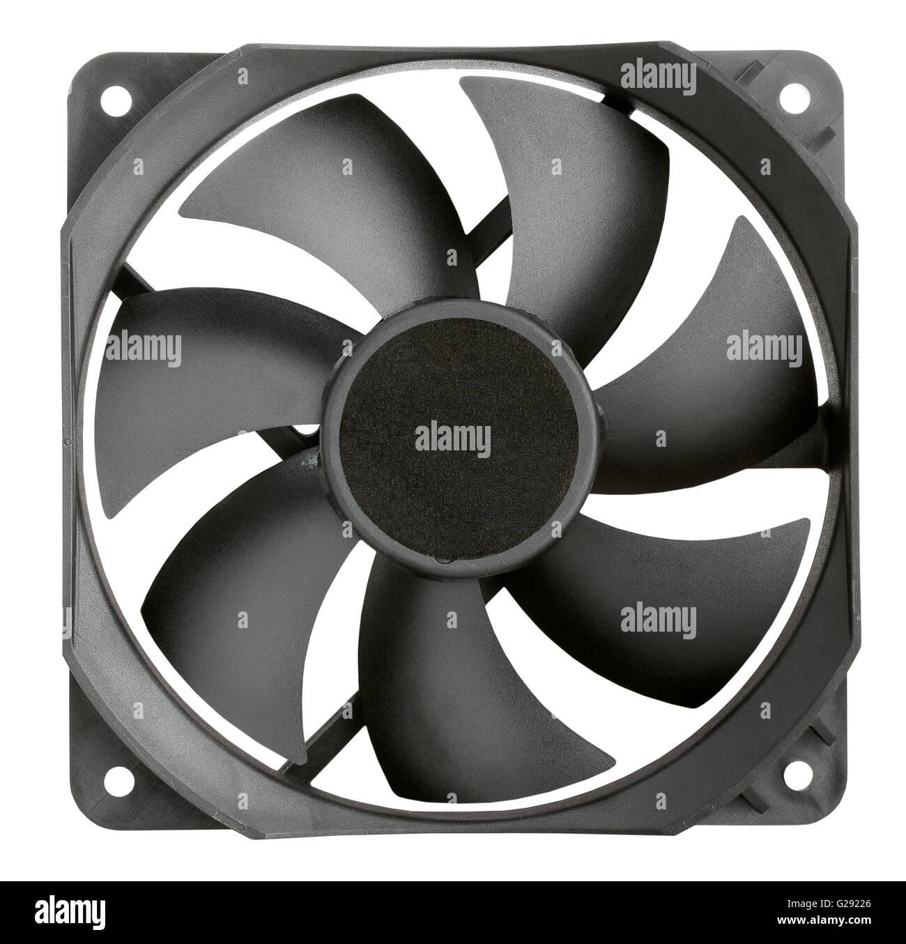Pc ventola radiatore isolato Immagini Stock