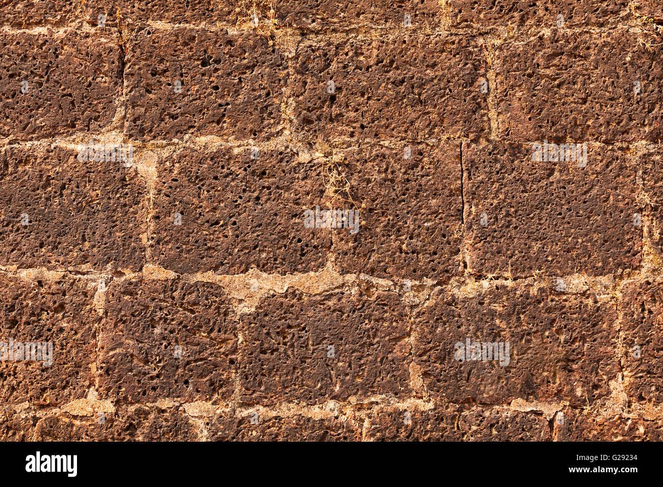 Muro di mattoni texture Immagini Stock