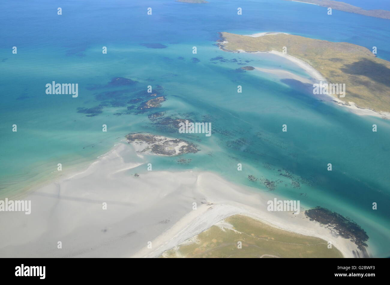 Outer Hebrides, Scozia Immagini Stock
