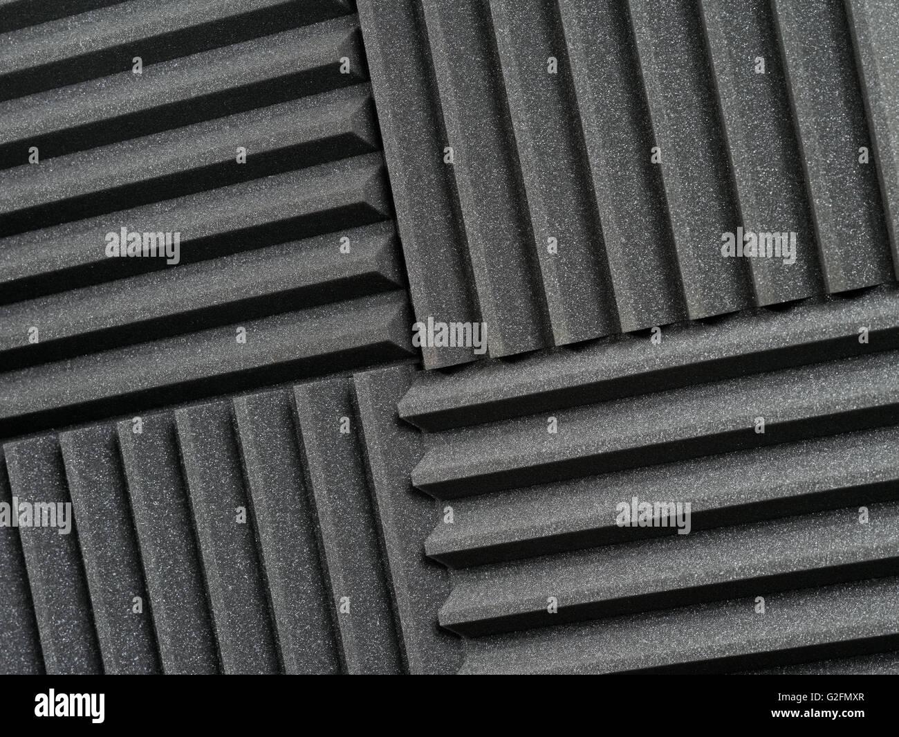 Foto di sfondo di studio di registrazione di smorzamento del suono