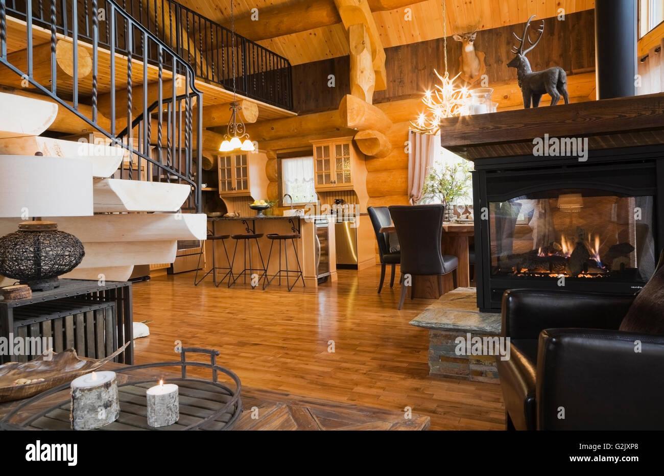 Tavolino da soggiorno imbianchiti scale di legno nero cancellata in