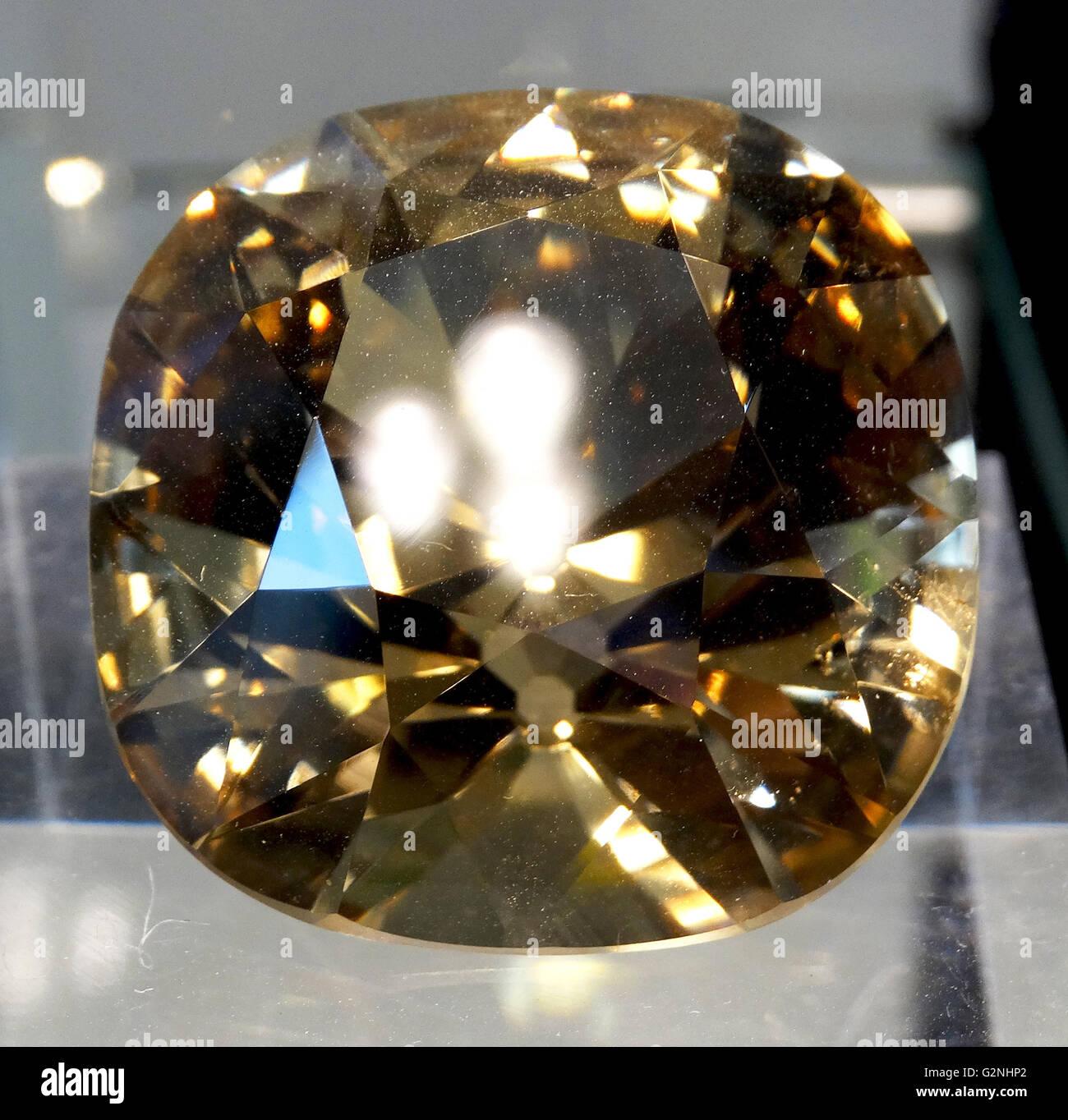 De Beers 234.50 CT Diamond Immagini Stock