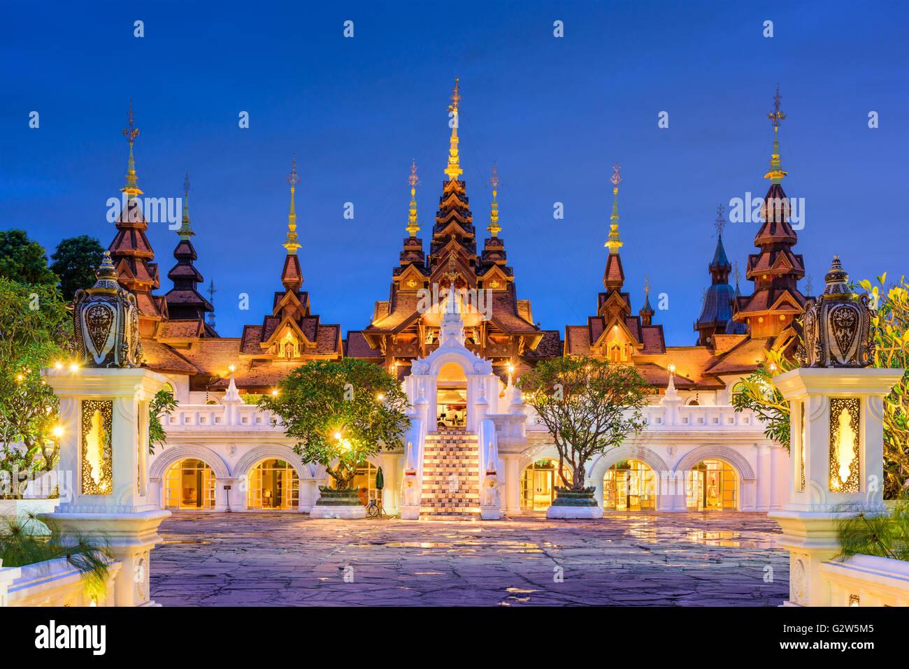 Chiang Mai, Thailandia hotel tradizionale. Immagini Stock