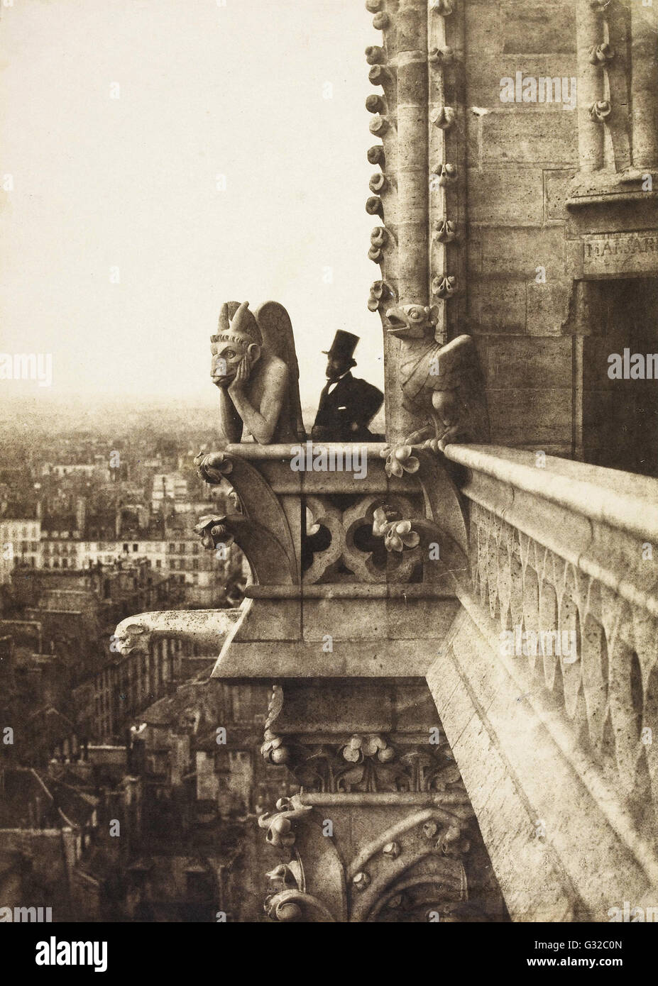 Charles Nègre - Il Vampiro - Musée d'Orsay, Parigi Immagini Stock