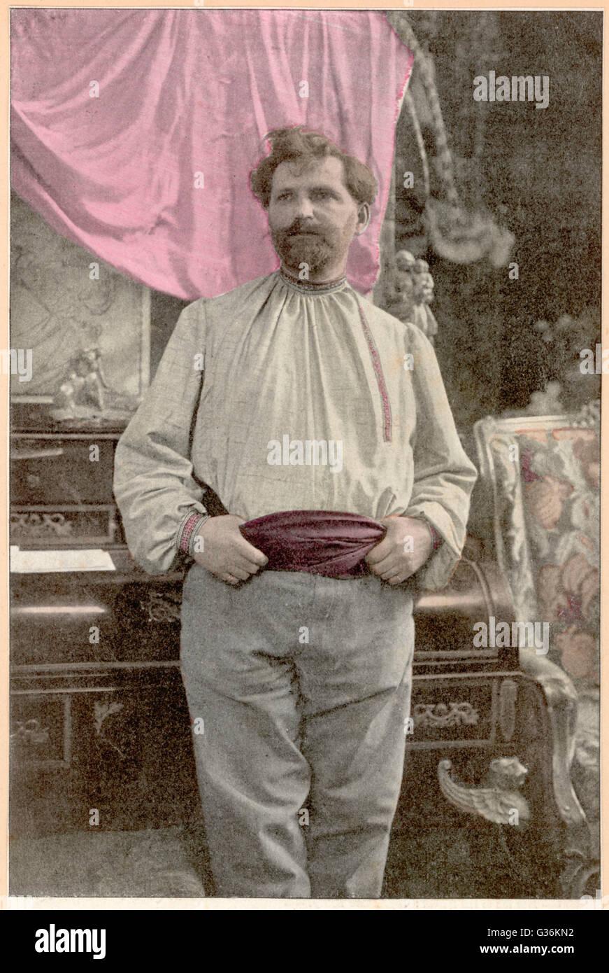 Alfons Mucha (1860-1939) artista cecoslovacco Immagini Stock