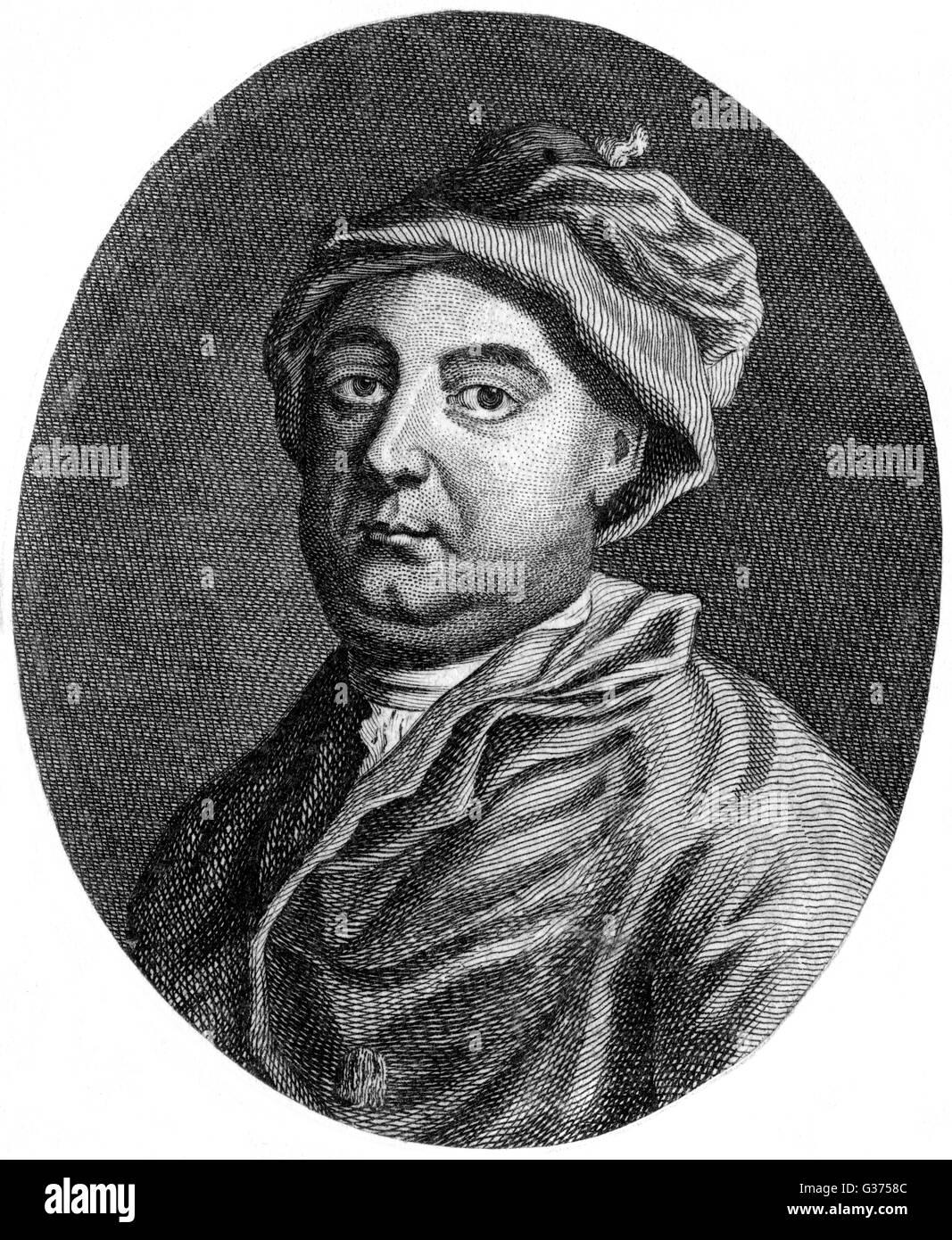 WILLIAM WOOLLETT incisore storico di Sua Maestà data: 1735 - 1785 Immagini Stock