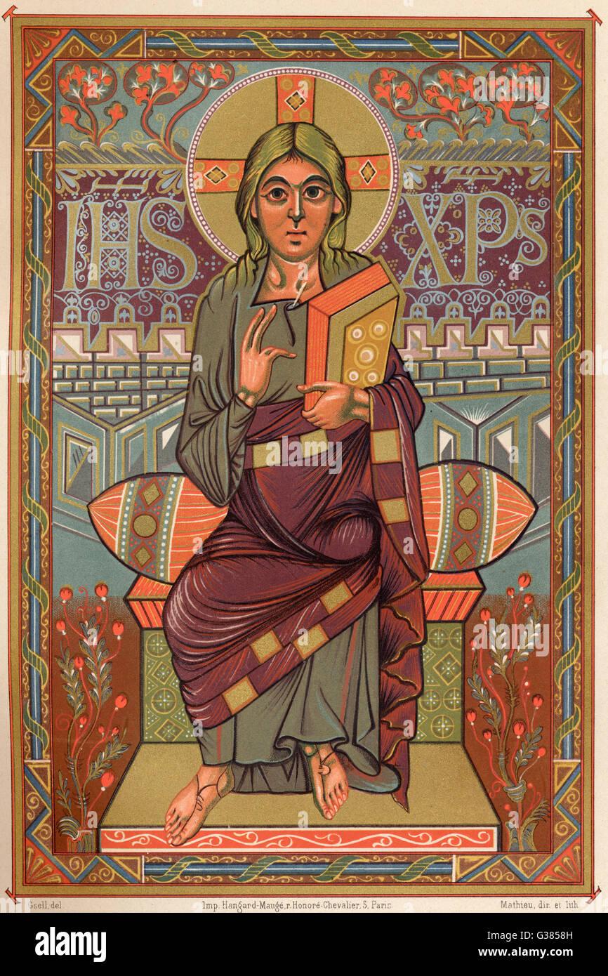 Gesù di Nazaret Data: 6 BC - 30 ANNUNCIO Immagini Stock
