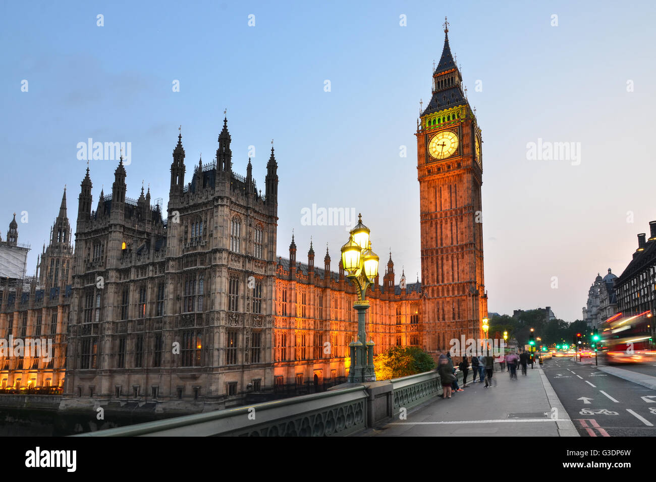 Big Ben, London, England, Regno Unito Immagini Stock