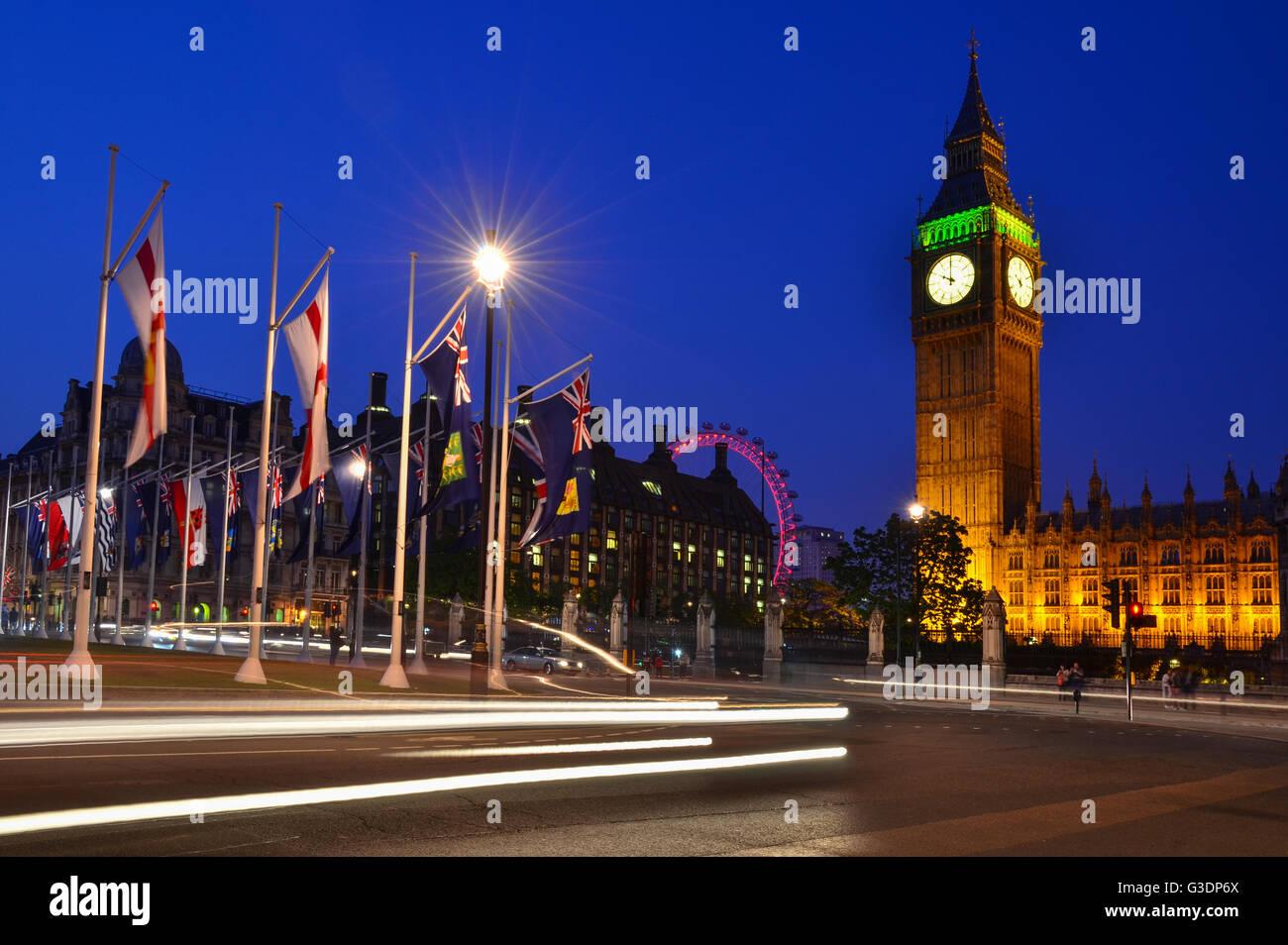 Big Ben, London, England, Regno Unito Immagini Stock