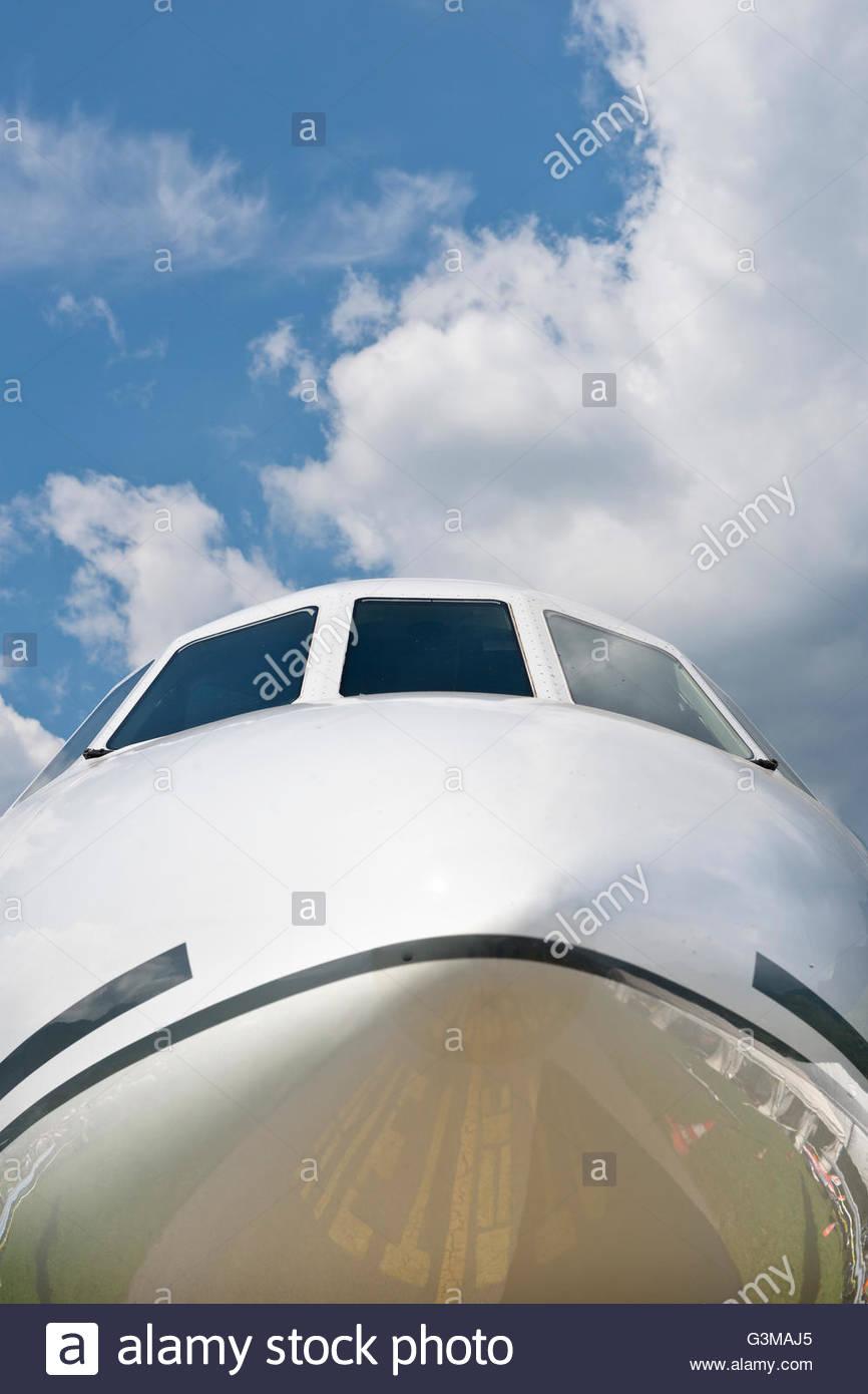 Airshow di cielo aperto,Locarno, Svizzera Immagini Stock