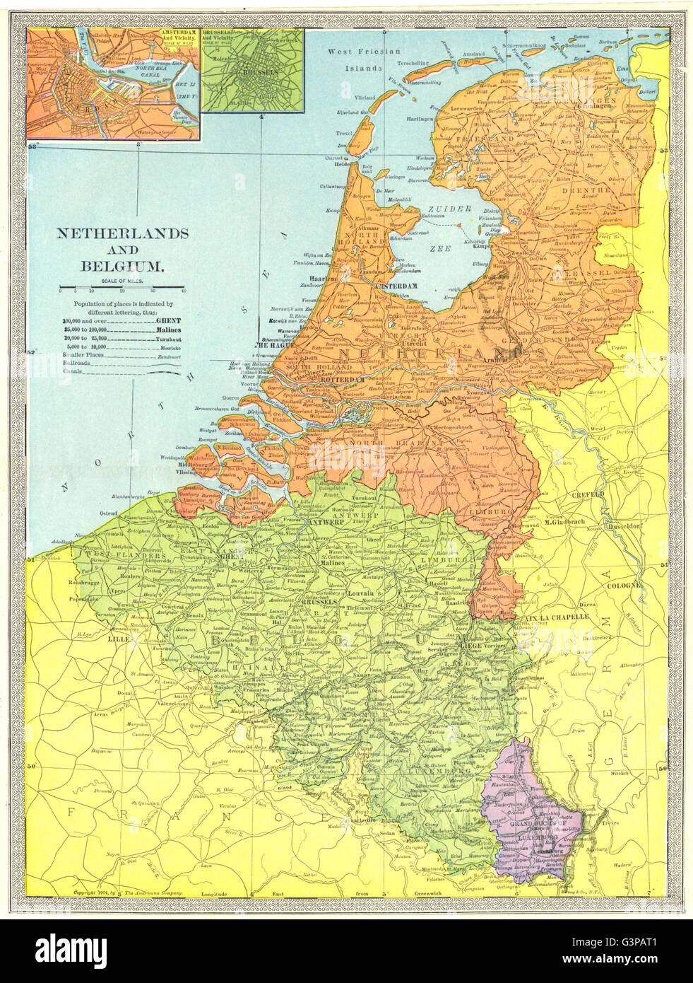 Olanda Cartina Geografica Politica